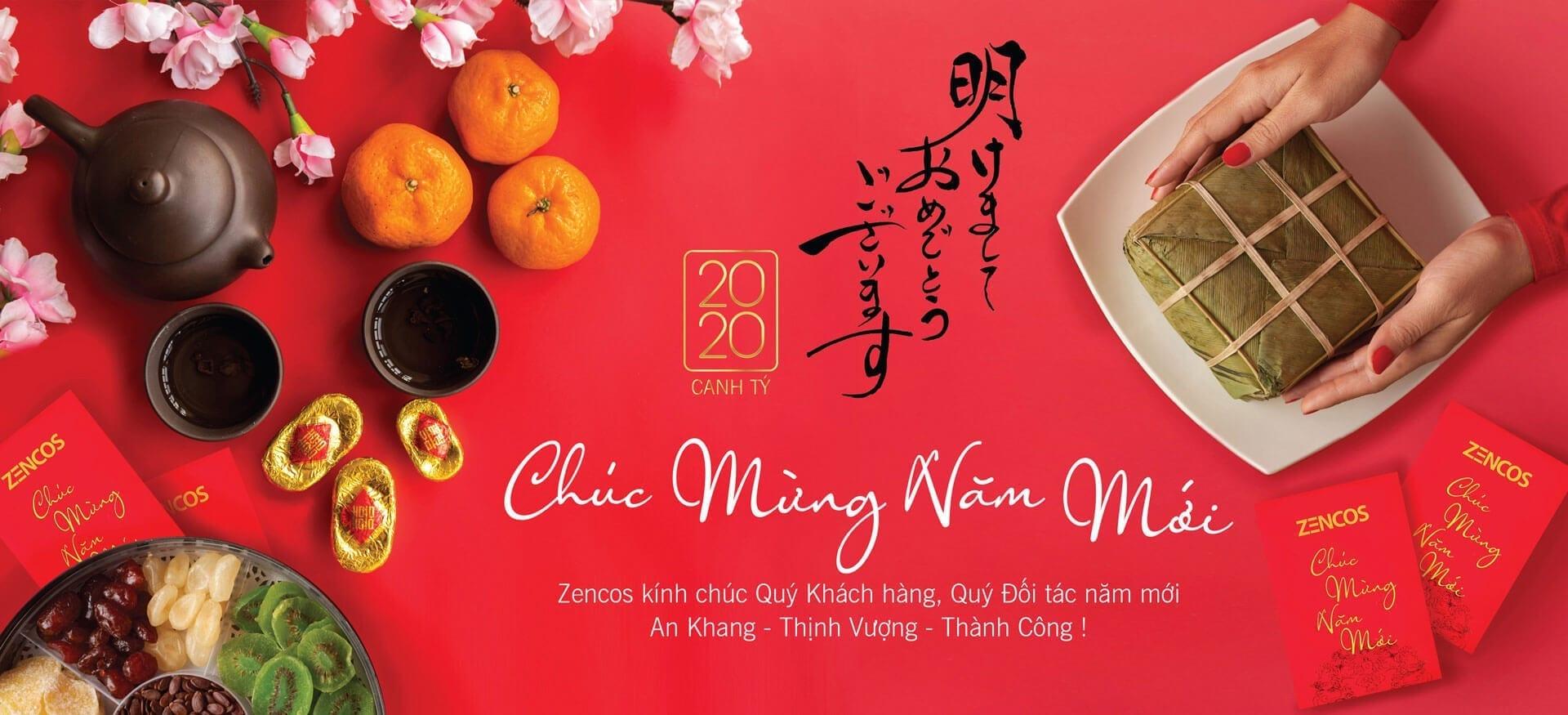 Chúc mừng tết dương lịch Zencos Việt Nam