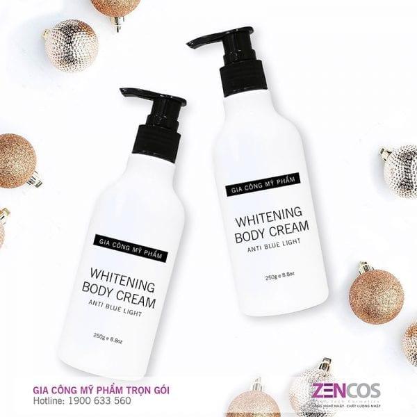 Gia Công Kem Body Makeup- Whitening Cream- Anti Blue Light